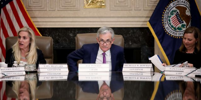 Federal Reserve. WIN MCNAMEE / GETTY IMAGES NORTH AMERICA