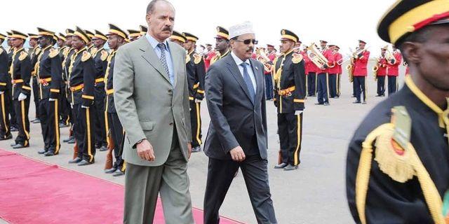 Eritreas och Somalia  HANDOUT / TT NYHETSBYRÅN