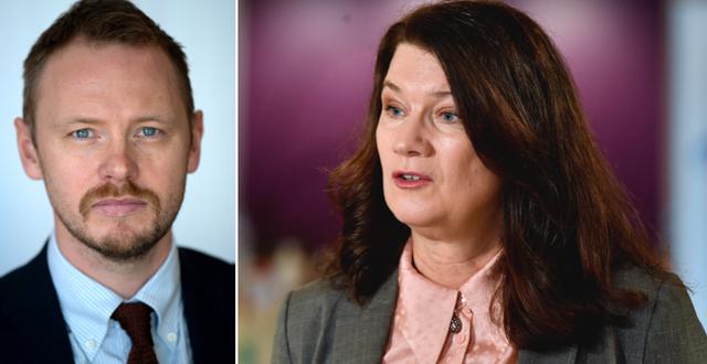 Björn Jerdén och Ann Linde TT