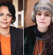 Veronica Palm, Lo Kauppi och Ametist Azordegan. TT