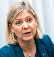Finansminister Magdalena Andersson (S). Amir Nabizadeh/TT / TT NYHETSBYRÅN