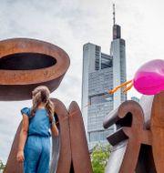 Arkivbild: Commerzbanks byggnad i Frankfurt Michael Probst / TT NYHETSBYRÅN