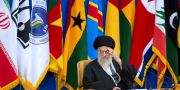 Ayatollah Ali Khamenei i februari 2017. Ebrahim Noroozi / TT NYHETSBYRÅN/ NTB Scanpix