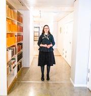 Anna Ekström i korridorerna på utbildningsdepartementet. Magnus Hjalmarson Neideman/SvD/TT / TT NYHETSBYRÅN