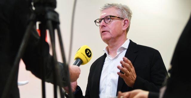 Börje Ekholm, vd Ericsson.  Fredrik Sandberg/TT / TT NYHETSBYRÅN