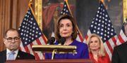 Representanthusets talman, demokraten Nancy Pelosi.  SAUL LOEB / AFP