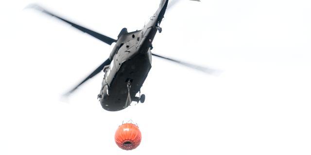 Oklart om helikopter satts in i sokandet