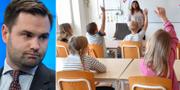 Undervisningstiden i lågstadiet kommer att utökas, skriver Erik Bengtzboe (M). TT