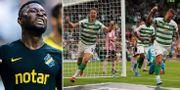 AIK kan ställas mot Celtic. Bildbyrån