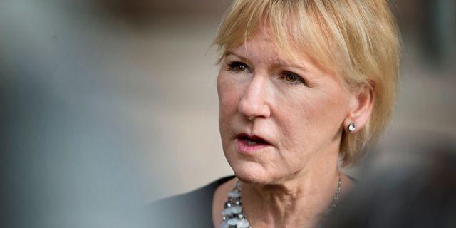 Margot Wallström Jessica Gow/TT / TT NYHETSBYRÅN