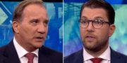 Stefan Löfven/Jimmie Åkesson. SVT