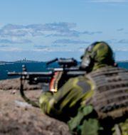Militärövning Adam Ihse  / TT / TT NYHETSBYRÅN