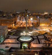 Arkivbild: Självständighetstorget i centrala Kiev. GUSTAV SJÖHOLM / TT / TT NYHETSBYRÅN