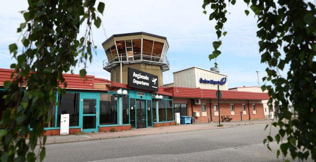 Örebro flygplats.  Jeppe Gustafsson / TT NYHETSBYRÅN