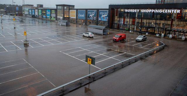 Nordby shoppingcenter i Strömstad.  ADAM IHSE / TT / TT NYHETSBYRÅN
