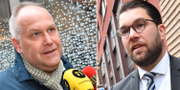 Sjöstedt och Åkesson.  TT