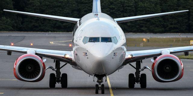 Debattören anser att flygandet behöver minska med sju procent om året. Johan Nilsson/TT / TT NYHETSBYRÅN