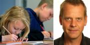 Ola Rosling till höger. TT