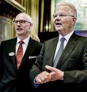 Arkivbild: Pär Boman och Fredrik Lundberg.  Lars Pehrson / SvD / TT / TT NYHETSBYRÅN