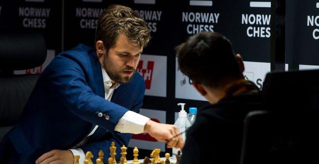 Magnus Carlsen. Carina Johansen / TT NYHETSBYRÅN