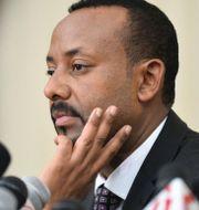 Etiopiens premiärminister Abiy Ahmed.  MICHAEL TEWELDE / AFP