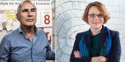 Harry Flam och Anna-Karin Jatko.  TT