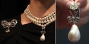 Smyckena som såldes i Genève. TT