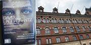 Millennium-bok och Norstedt-huset. TT