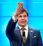 Talman Andreas Norlén. Anders Wiklund/TT / TT NYHETSBYRÅN