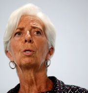 ECB-chefen Christine Lagarde Hannibal Hanschke / TT NYHETSBYRÅN