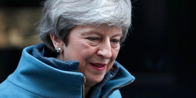 Theresa May.  Alastair Grant / TT NYHETSBYRÅN