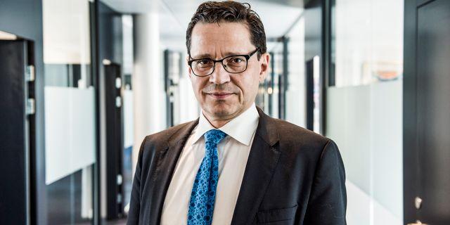 Arkivbild: Bankföreningens vd Hans Lindberg.  Lars Pehrson/SvD/TT / TT NYHETSBYRÅN