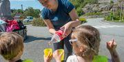 På förskolor i Askøy serveras barnen bara vatten ur flaska eller kokat vatten.  Marit Hommedal / TT NYHETSBYRÅN