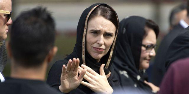 Jacinda Ardern. Arkivbild. MARTY MELVILLE / AFP