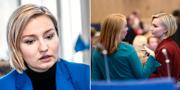 Annie Lööf och Ebba Busch Thor  TT