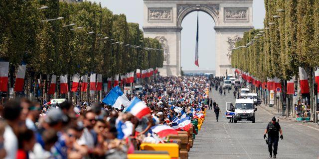 Champs-Elysees Jean-Francois Badias / TT / NTB Scanpix