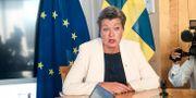 Ylva Johansson (S), Sveriges blivande EU-kommissionär.  Wiktor Nummelin/TT / TT NYHETSBYRÅN