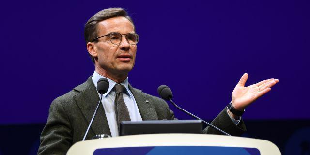 Moderaternas partiledare Ulf Kristersson.  Fredrik Sandberg/TT / TT NYHETSBYRÅN