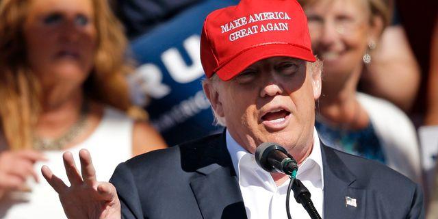 Trump medger svarigheter