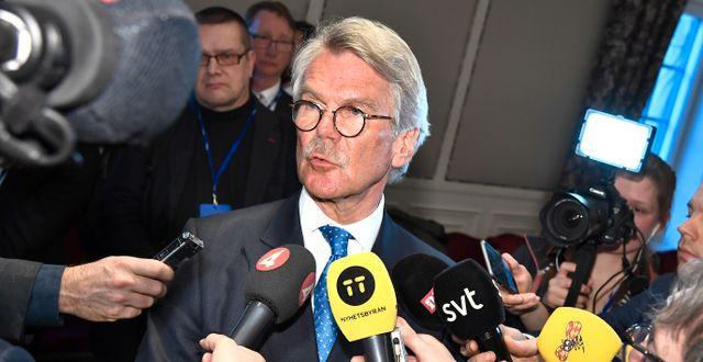 Sampos storägare och ordförande Björn Wahlroos. Claudio Bresciani/TT / TT NYHETSBYRÅN