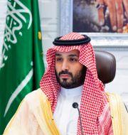 Den saudiske kronprisen Mohammed bin Salman är ordförande i PIF. Bandar Aljaloud / TT NYHETSBYRÅN