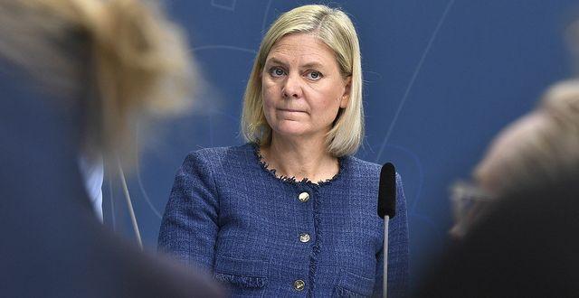 Finansminister Magdalena Andersson. TT.