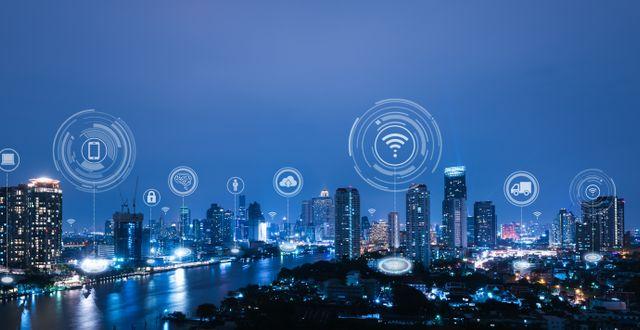 En uppkopplad stad är en smartare stad. Shutterstock