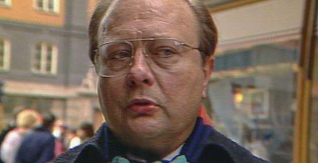 Stig Engström. SVT / TT NYHETSBYRÅN