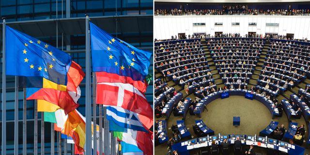 EU-parlamentet. TT