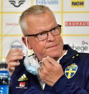 Förbundskapten Janne Andersson Jonas Ekstromer/TT / TT NYHETSBYRÅN