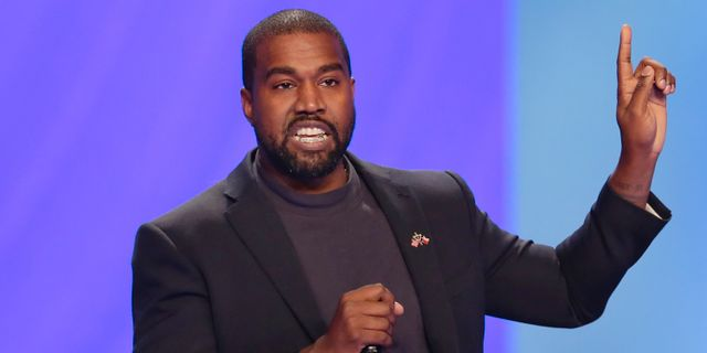 Kanye West. Arkivbild. AP/TT
