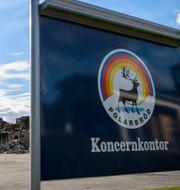 Arkivbild: Polarfabriken i Älvsbyn som har förstördes i en brand. Henrik Montgomery/TT / TT NYHETSBYRÅN