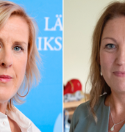 Åsa Fahlén och Johanna Jaara Åstrand. Arkivbilder. TT