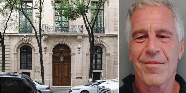 Jeffrey Epsteins hem på Manhattan.
